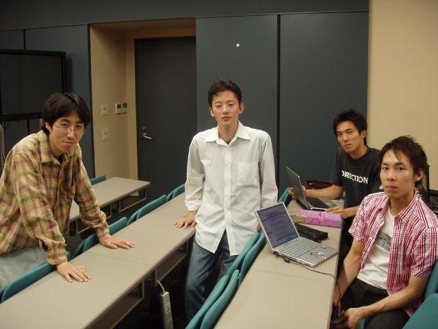 「リアルタイム」「特徴」チーム合同ミーティング(8/18)