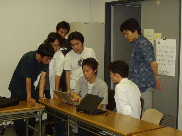 「リアルタイム」「特徴」チーム合同ミーティング(8/29)